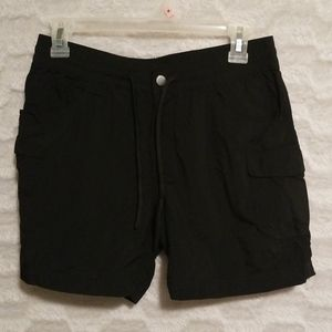 Black Colombia Shorts